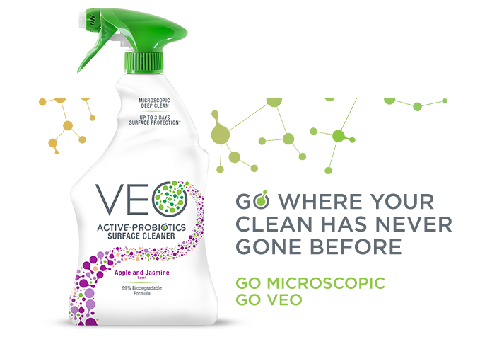 VEO Active Probiotic Cleaner Product Launch